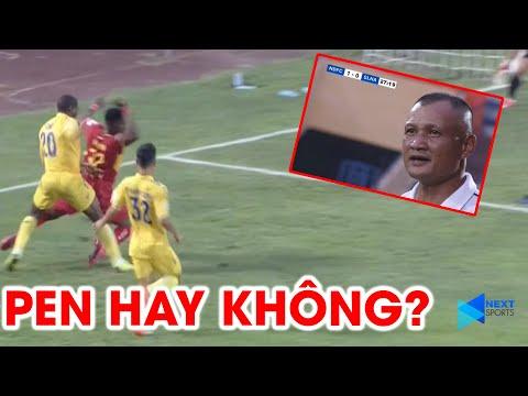 SLNA phản đối trọng tài khi từ chối quả 11m trước DNH Nam Định | NEXT SPORTS