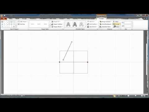 Sine Wave Drawing in Microsoft Power Point Tutorial2