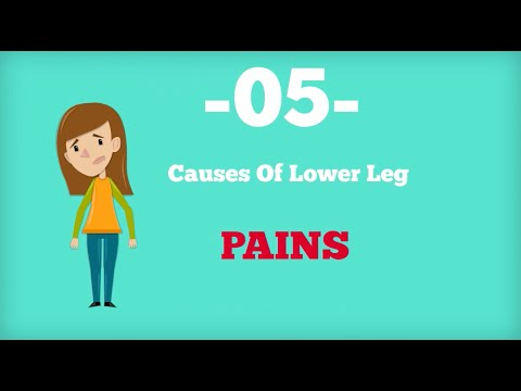 5 Causes Of Lower Legs Pain