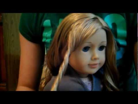 How to Finger Curl your AG dolls hair!