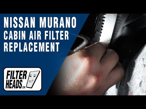 How to Replace Cabin Air Filter 2013 Nissan Murano