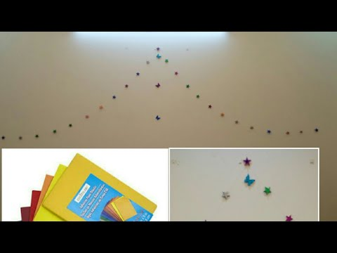 Learn how to make Wall decoration stickers