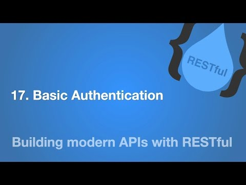 17. Basic Authentication