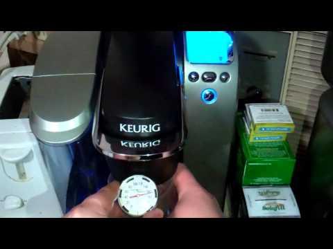 Keurig K75 Brew Temp Test