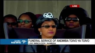 Toivo Ya Toivo funeral ongoing in Namibia