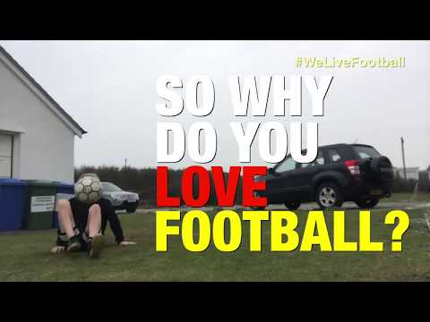 Why do YOU love Football?