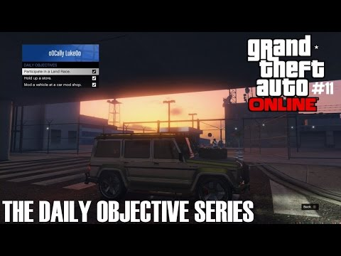 GTA Online - The Daily Objective Series (Ep11)