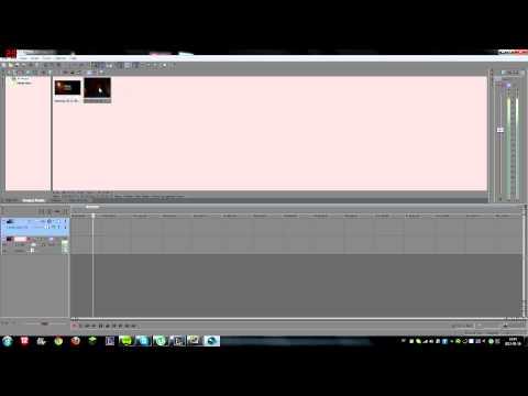 Sony vegas Pro 11 basic tutorial, Cut, audio, facecam etc.