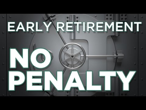 Retiring Before 59.5 - What About Penalties?