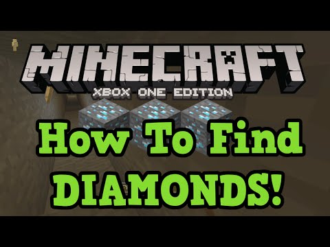 Minecraft Xbox One + PS4: How to find DIAMONDS (Branch Mining tutorial)