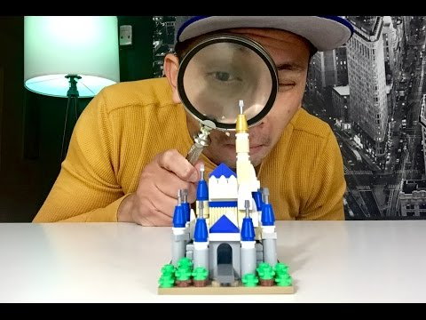 How to build your own Lego Micro Disney Castle