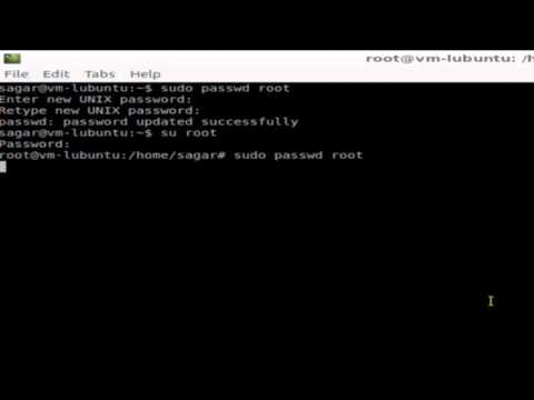 How to change the password for root in openSUSE