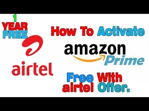 Airtel-Amazon Prime Membership  Free  Step By Step Via Airtel Tv Application Free For 1 Year.