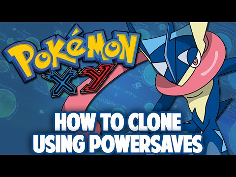 Pokemon X/Y - How to Clone w/ Powersaves [Updated]