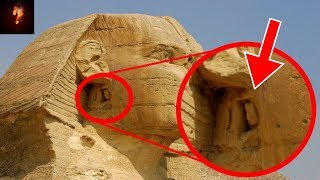 Secret Chamber Behind Sphinx's Ear?