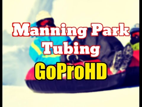 Manning Park Resort BC Tubing New (GoPro HD) - Vancouver Tourism BC Attractions Tube Park