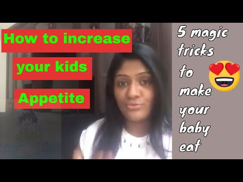 5 magic tricks to increase your child's appetite | Sri-Lankan style | Sasiri Gardihewa