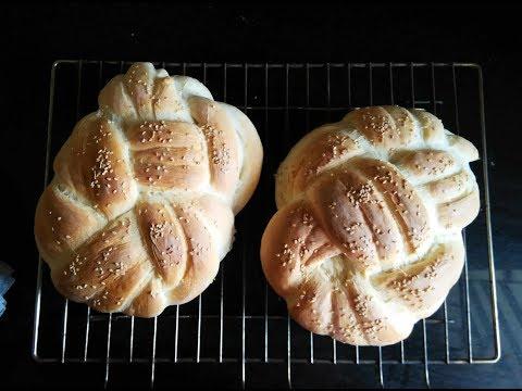 Eggless Challah - Winston Knot Bread