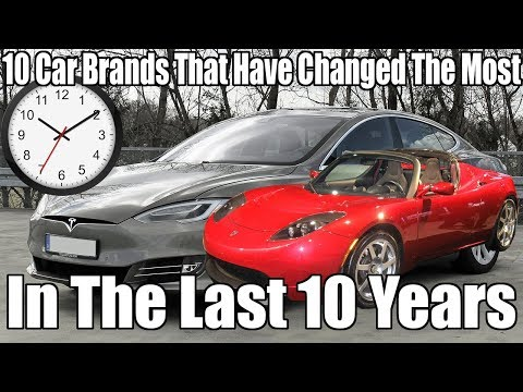 10 Car Brands That Have Changed The Most In The Last 10 Years