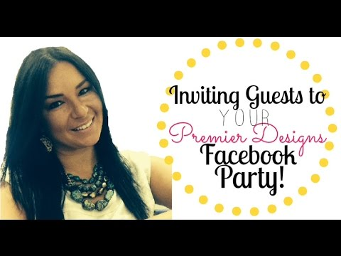 Facebook Party Hostess Invitation Guide