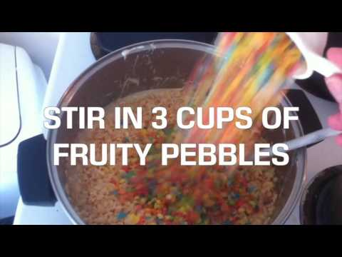 How to Make Rice Krispies Edibles...YUM