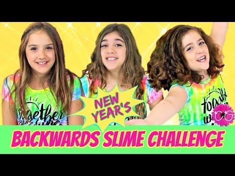 Backwards Slime Challenge - New Year's Slime!