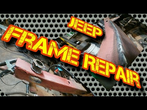 Jeep Frame Off Restoration and Upgrade Project  Part 1