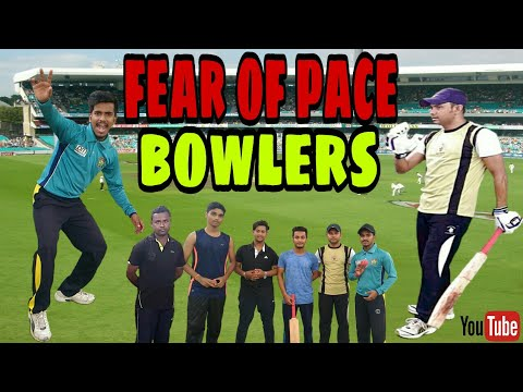 Fear of pace bowlers how can you overcome hind/urdu. by Biswajit Bhattacharjee.