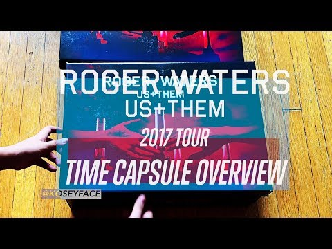 Roger Waters  US + Them 2017 Time Capsule  Overview & Lithographs