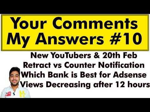 Your Comments My Answers || QnA #10 || I'm Always Happy To Help || Hindi