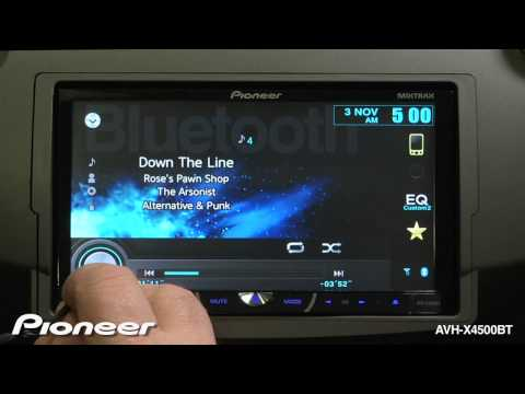 How To - AVH-X4500BT - Reset The System