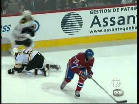 P.K. Subban absolutely hammers Brad Marchand
