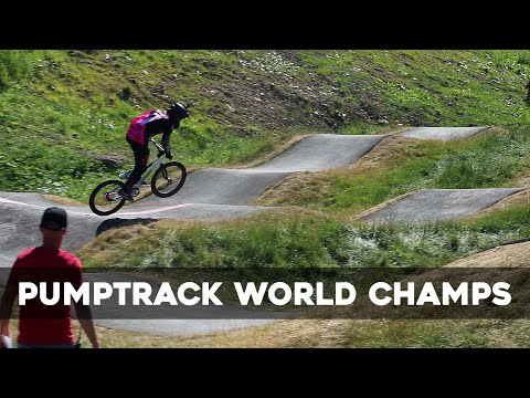 Racing The Pumptrack World Championships On My Trials Bike