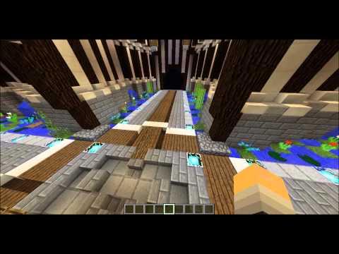 Minecraft Building - Server Spawn/Hub