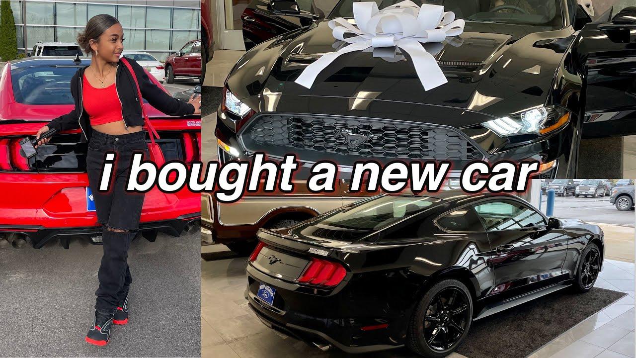 Buying My Dream Car at 17 Vlog | LexiVee