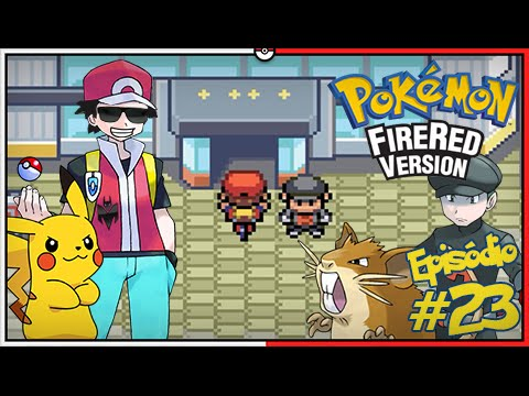 Pokémon Fire Red Let's Play #23: Silph Co. de Saffron [Parte 01/02]