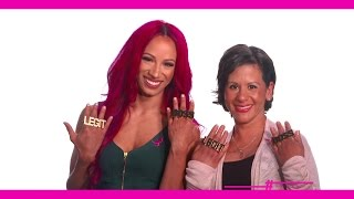 Sasha Banks introduces Angelica, a breast cancer survivor who is More Than Pink
