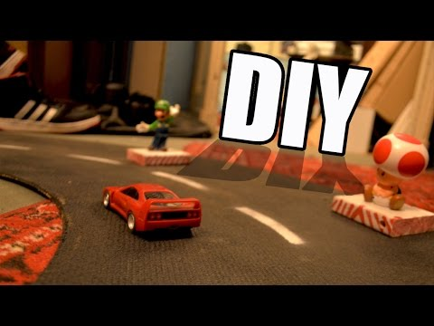 How to Make • Spinning Track for Toy Cars