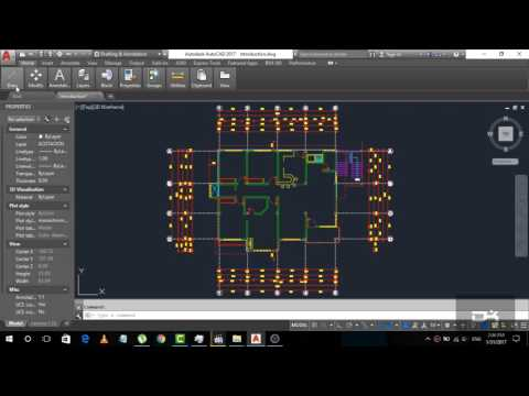 Introduction to the Ribbon and use of Ribbon | Introduction Part-2 | AutoCad 2017 for Beginner