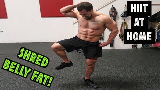 Intense 5 Minute Belly Fat Burning Cardio Abs Workout | HIIT At Home!