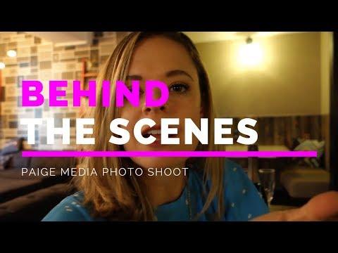 Paige Media Photo shoot Vlog