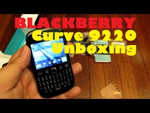 BlackBerry Curve 9220 Unboxing - Entry Level BBM-Capable Device For PHP 6,990 (2G Only)