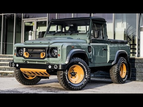 Land Rover Defender Pick-Up Customized by Kahn Design