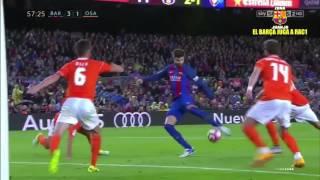 FC Barcelona vs Osasuna [7-1][La Liga - Jornada 34][26/04/2017] EL BARÇA JUGA A RAC1