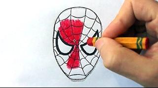 Step By Step Spiderman Easy Drawing Secret(Ehedov Elnur)Секрет рисование Человека паука _Orumcek adam basit nasil cizilir   Production Music courtesy of Epidemic Sound!