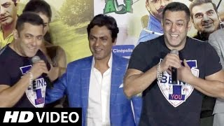 Salman Khan All FUNNY MOMENTS At Freaky Ali Trailer Launch