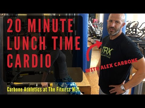 Fast 20-Minute Cardio Workout You Can Do During Lunch