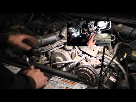water pump replacement 2.3l ranger Ford Mazda B2300