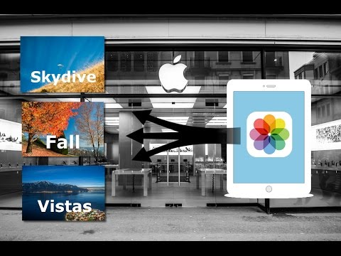 How to transfer iPad photo albums to PC