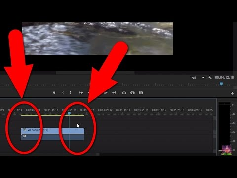 How to Trim the Beginning/End of a clip in Adobe Premiere Pro CC 2015
